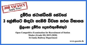 Open-Competitive-Examination-for-Recruitment-of-Station-Master-Sri-lanka-Railway-Department