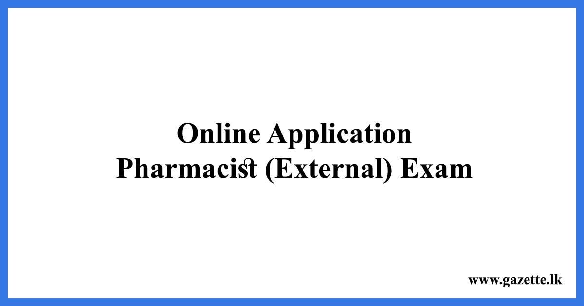 Pharmacist-External-Exam