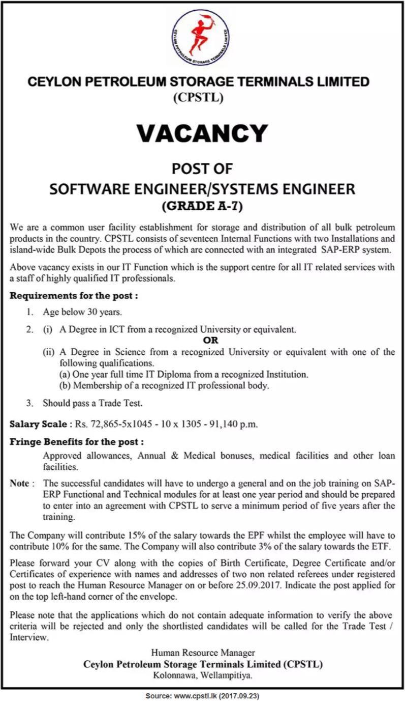 Tolle System Engineer Job Description Ideen - FORTSETZUNG ...