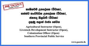 Southern-Provincial-Public-Service-Vacancies