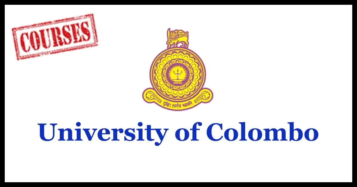 University of Colombo Courses
