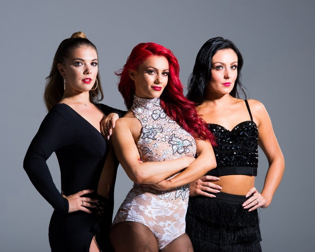 medium resolution of wiltshire s joe sugg s girlfriend and professional dancer dianne buswell is coming to the county to dance in 2019 with two fabulous dance friends