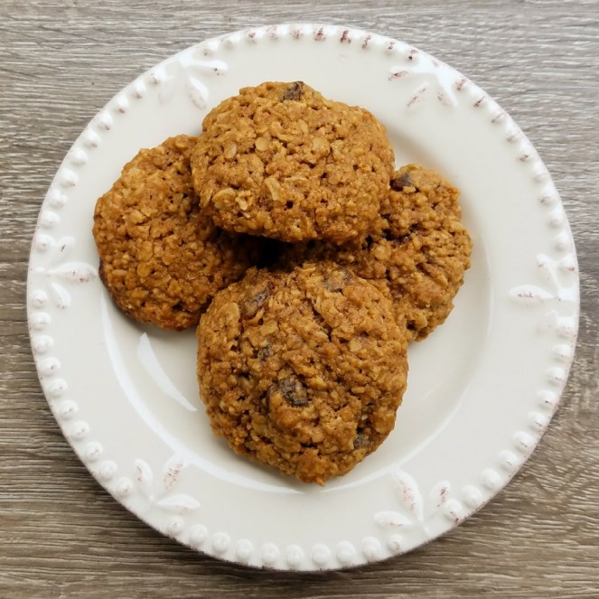 quick and easy oatmeal raisin cookies