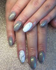 perfect marble nail art - elegant