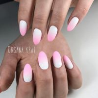Ombre Nails White And Pink | Best Nail Designs 2018