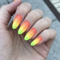 Yellow Ombre Nails   Best Nail Designs 2018