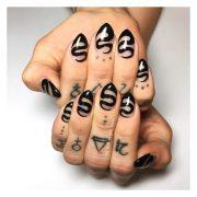 unique trending nail art design