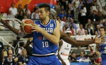 Andrea Bargnani, lungo dei Toronto Raptors. Inside