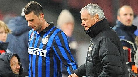 NAPOLI-INTER 2-0 Thiago Motta e Ranieri