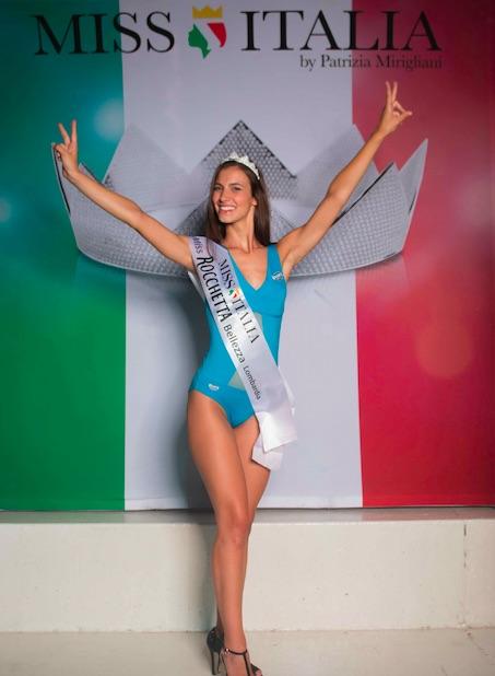 Selezioni Miss Italia in Lombardia Federica Negri  Miss