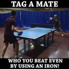 Video divertente ping pong!