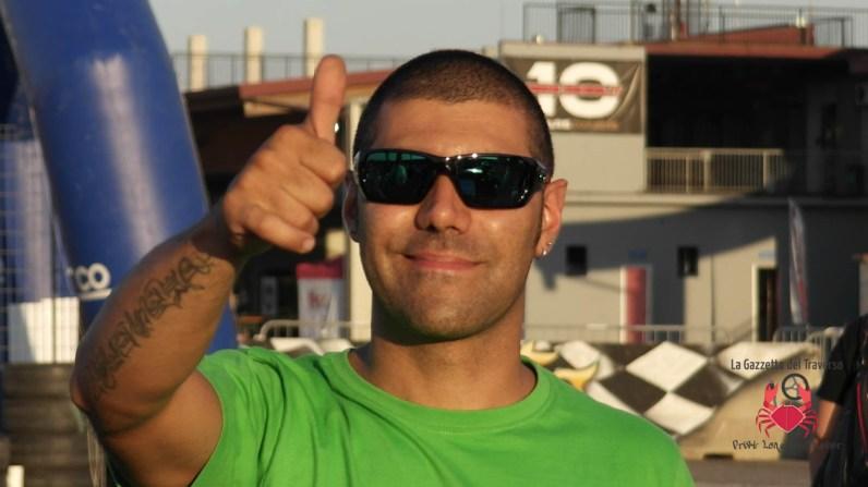 Christian Castellani sorridente come sempre