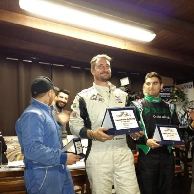 Adolfo Oliverio festeggia il primo posti in campionato