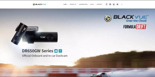 L'home page del produttore coreano pubblicizza l'accordo