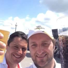 Selfie dal paddock