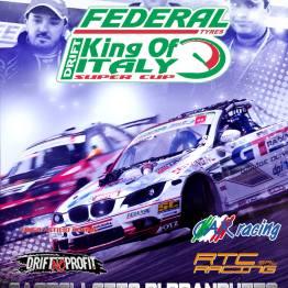 Locandina King of Italy - Drift Supercup