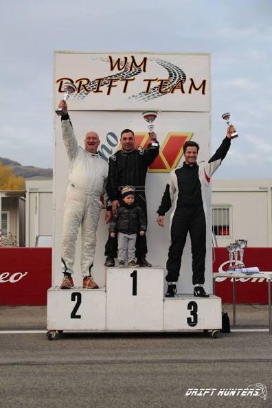 Il podio della categoria street - Round 5 - Campionato Italiano Drifting 2016