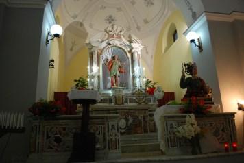 San Vito Vallata - interno cappella