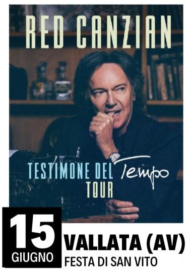 CANZIAN vALLATA TESTIMONI DEL TEMPO TOUR