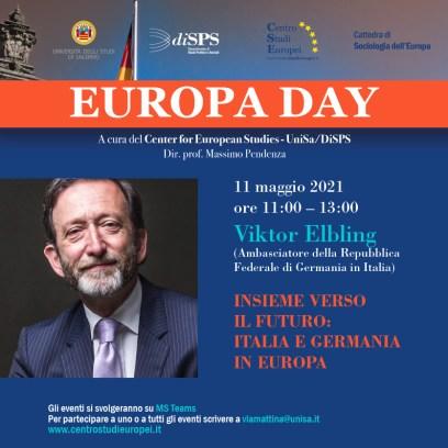 Viktor Elbling Festa dell'Europa 11 maggio 2021