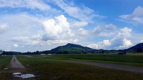 Incontro sul volo nella frazione de La Querce a Prato