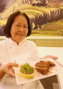 La chef Bui Thi Suong
