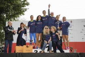 L premiazione con Mara Venier e Bona Frescobldi