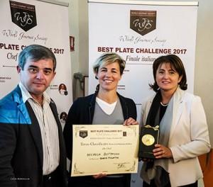 Michela Bottasso chef del ristorante Biagio Pignatta