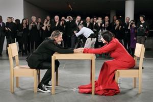 """The Artist is Present"" - Marina Abramovic MoMA - New York 2010"