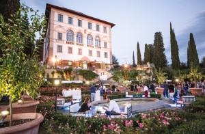 02 Degustazione nel giardino del Luxury Hotel Il Salviatino