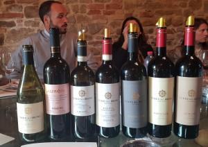 I vini Terre del Bruno in degustazione