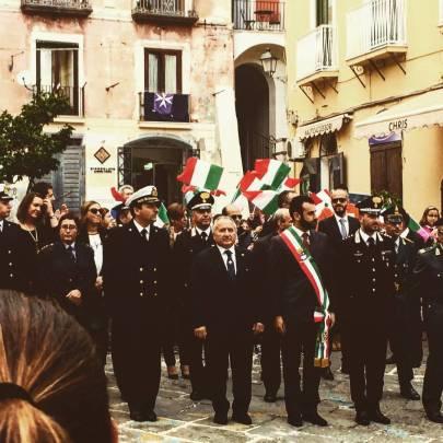 Celebrazione 4 novembre 2016 Amalfi