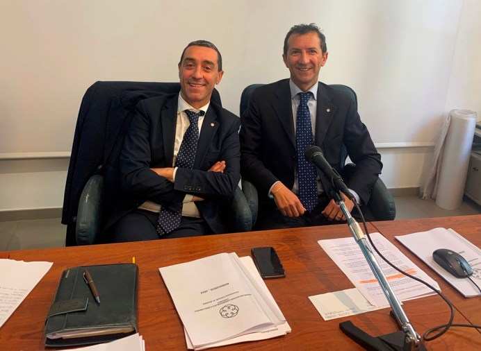 Foto Salvatore Giordano e Agostino Soave