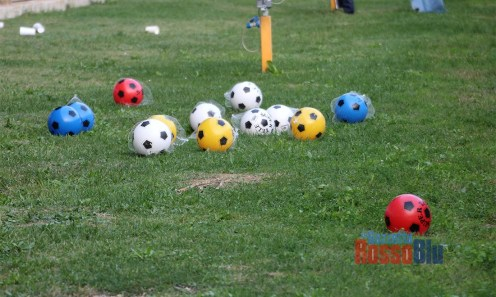 1920 samb rimini tifosi 5 palloni in campo supertele