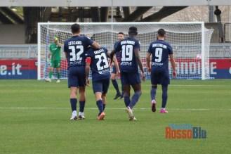 2021 samb virtus verona gol angiulli 10 lescano angiulli di spalle