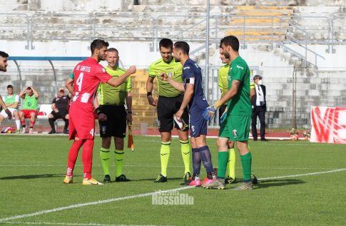 2021 play off matelica samb capitani saluto