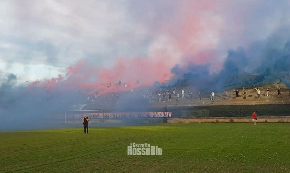 20210607 stadio ballarin tifosi fumogeni