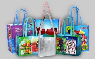 retail shopping bags grocery