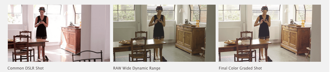 BMC Pocket Cinema Camera Wide Dynamic Range
