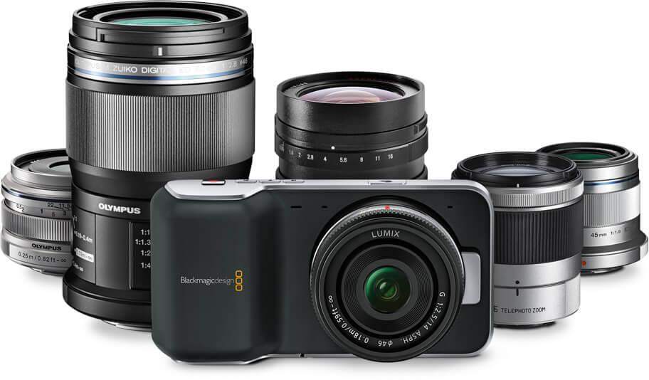 Blackmagic Pocket Cinema Camera - MFT Lens Mount
