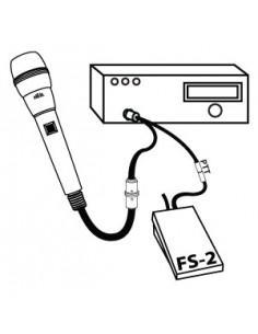XLR-XLR Microphone cable 1m