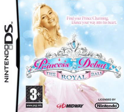 Models Direct: Yasamine on the front cover of Nintendo's Princess Debut