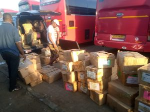 Ceciyaa Foundation donates 2,000 assorted books to Agbozume Library 1