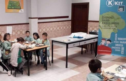 Desayuno saludable Colegio El Carmelo Ikastetxea