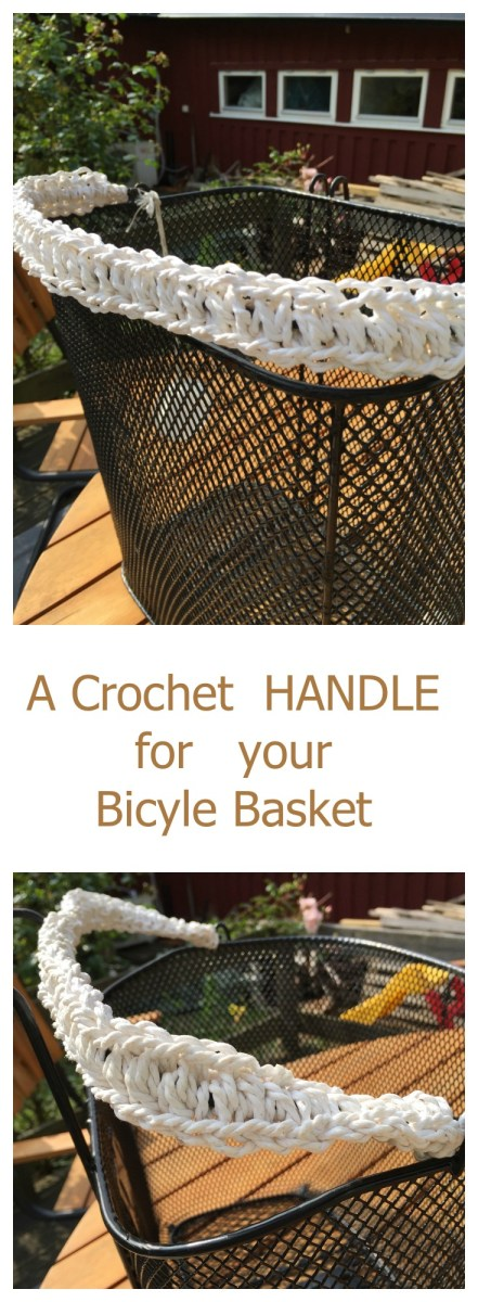 A Crochet Handle for your Bicycle Basket – gbcreates