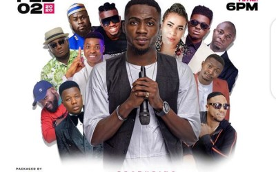 """Josh2Funny Set to Shut down Eko Hotel on Feb, 2nd with """"All Of Me Live"""