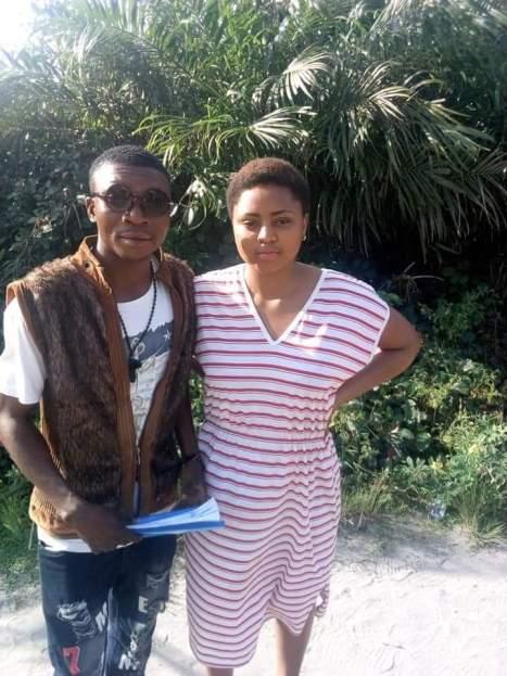 FADA FADA A1 with Nollywood Actress Regina Daniels