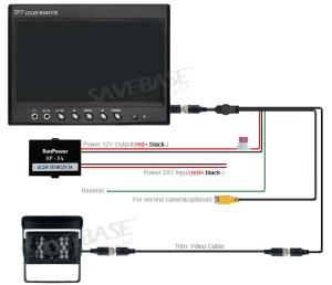 4Pin Ccd Reversing Camera  7