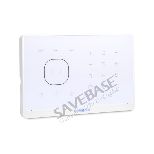 HOMSECUR Wireless&wired GSM Home Security Alarm System