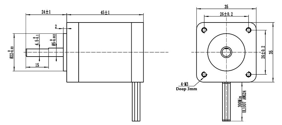 ENGMATE 4 Axis CNC Kit TB6600 Driver HB Nema14 62oz-in